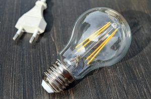 Lamp en stekker.