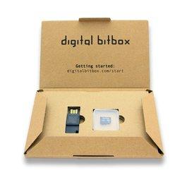 Verpakking van de Digital Bitbox