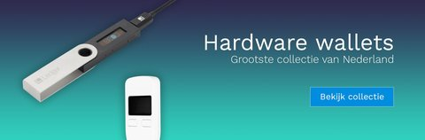 Cryptomaan hardware wallets collectie