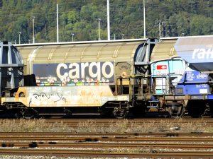 Cargo, goederentransport, goederentrein.