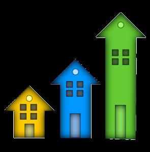 Huizen, vastgoedsector.