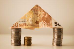 Geld, financiering, hypotheek.