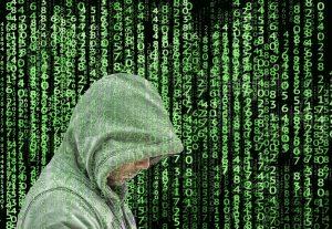 Cyber security, hacker.