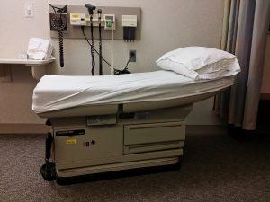 Behandelkamer, dokter, medische data.