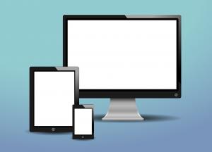 Crypto transacties op desktop, mobiel en tablet