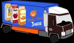 Vrachtwagen, logistiek, levensmiddelen, supply chain, Albert Heijn