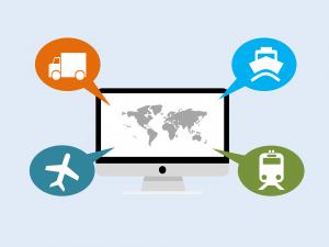 Logistiek, blockchain bedrijfsoplossingen