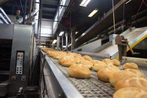 Assemblagelijn bakkerij, food supply chain