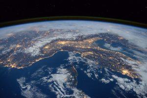 Aarde, ruimte, ISS