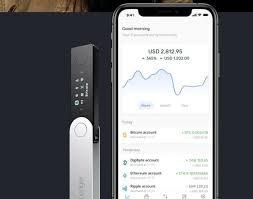 Ledger Nano X en smartphone