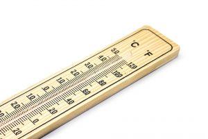 Thermometer, temperatuur, graden celsius
