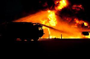 Brand, brandweer, rampplek