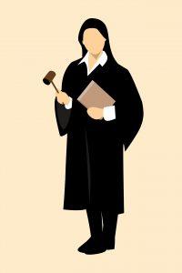 Vrouwelijke rechter