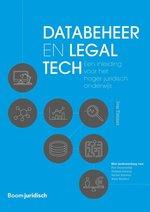 De cover van het boek Databeheer en legalTech van onderzoeker Ivar Timmer