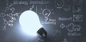 Gloeilamp, idee, innovatie, digitale disruptie
