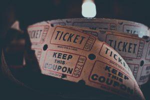 Concertkaarten, tickets