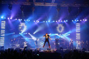 Concert, muziek, podium, band